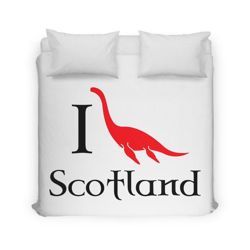 I (heart) Scotland Home Duvet by Synner Design