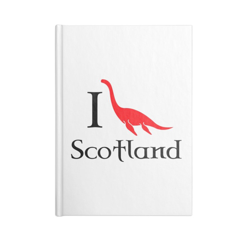 I (heart) Scotland Accessories Notebook by Synner Design