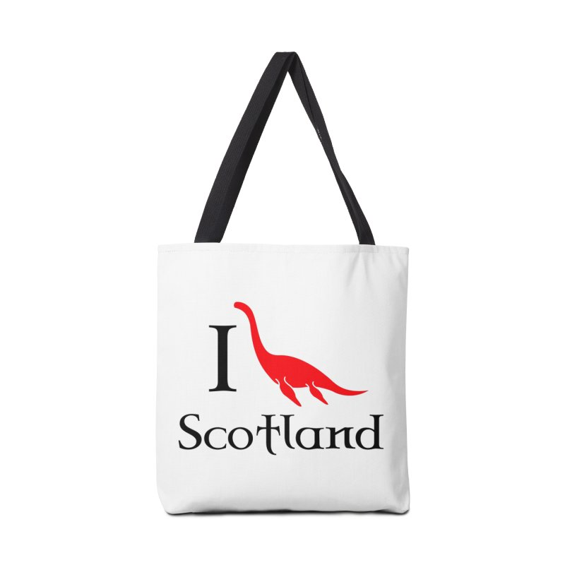 I (heart) Scotland Accessories Bag by Synner Design