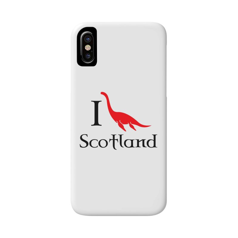 I (heart) Scotland Accessories Phone Case by Synner Design