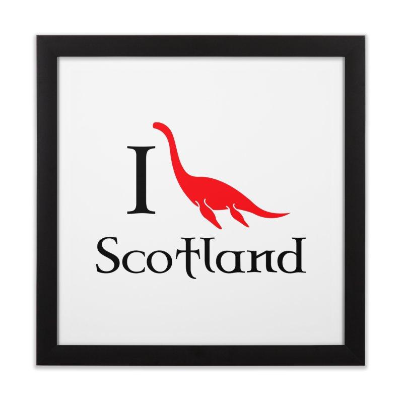 I (heart) Scotland Home Framed Fine Art Print by Synner Design