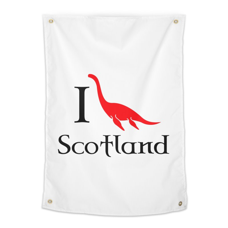 I (heart) Scotland Home Tapestry by Synner Design