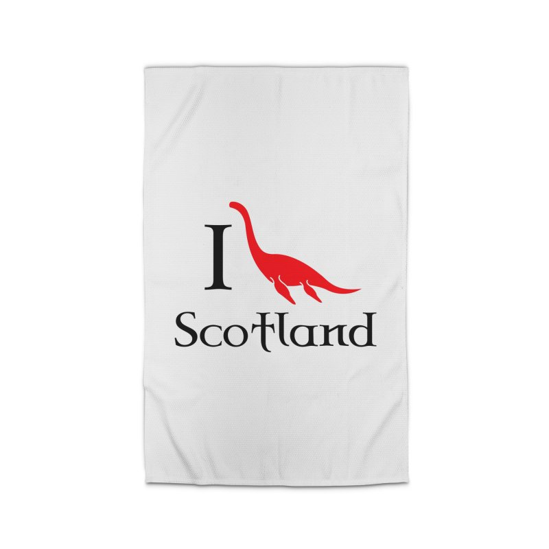 I (heart) Scotland Home Rug by Synner Design