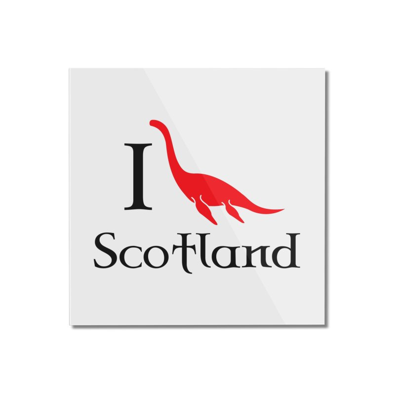 I (heart) Scotland Home Mounted Acrylic Print by Synner Design