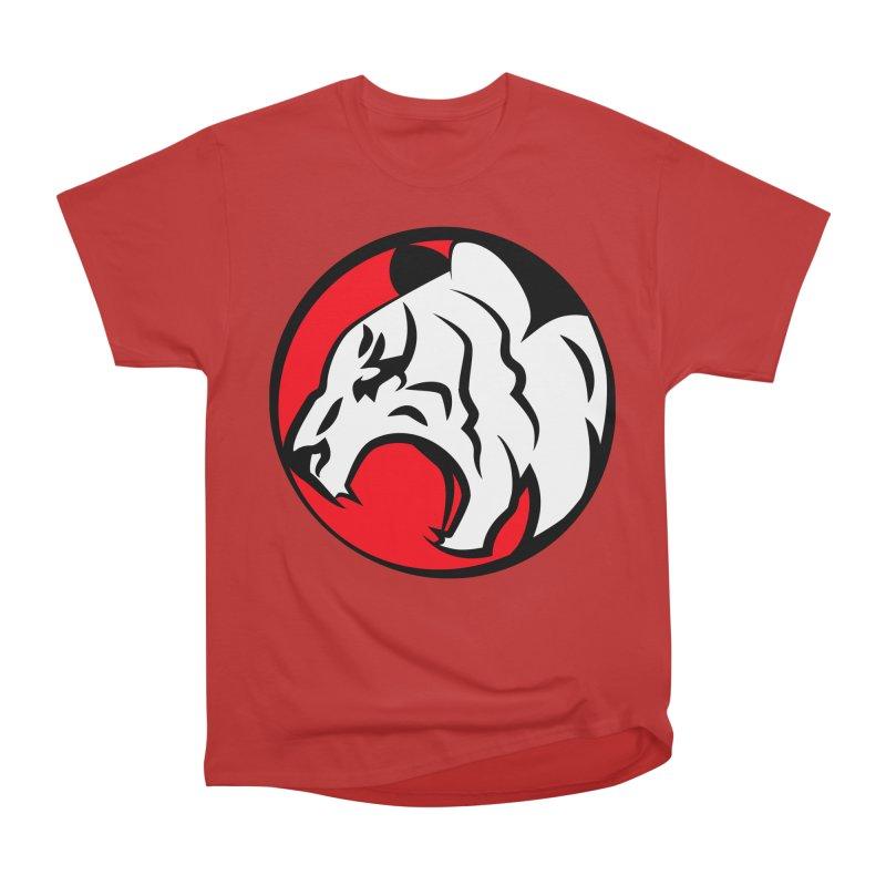 Fierce tiger Men's Heavyweight T-Shirt by Synner Design