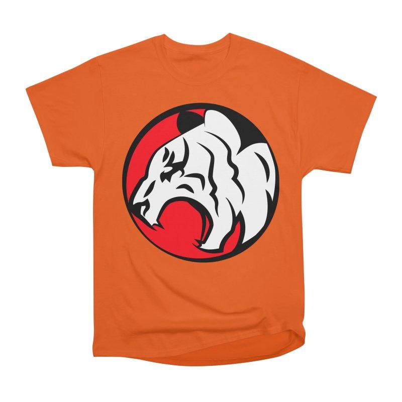 Fierce tiger Women's Heavyweight Unisex T-Shirt by Synner Design
