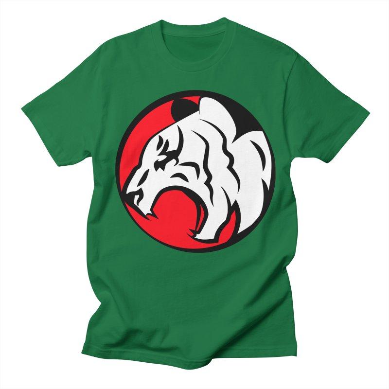 Fierce tiger Men's Regular T-Shirt by Synner Design