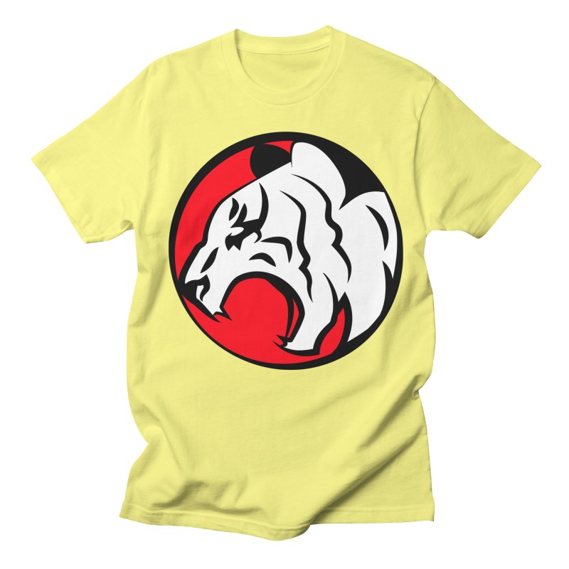 Fierce tiger Men's T-shirt by Synner Design