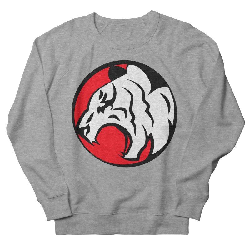 Fierce tiger Women's French Terry Sweatshirt by Synner Design