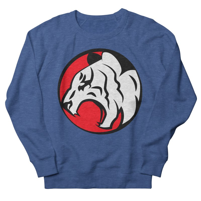 Fierce tiger Men's French Terry Sweatshirt by Synner Design