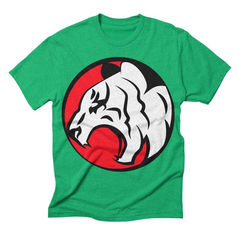 Fierce tiger Men's Triblend T-shirt by Synner Design