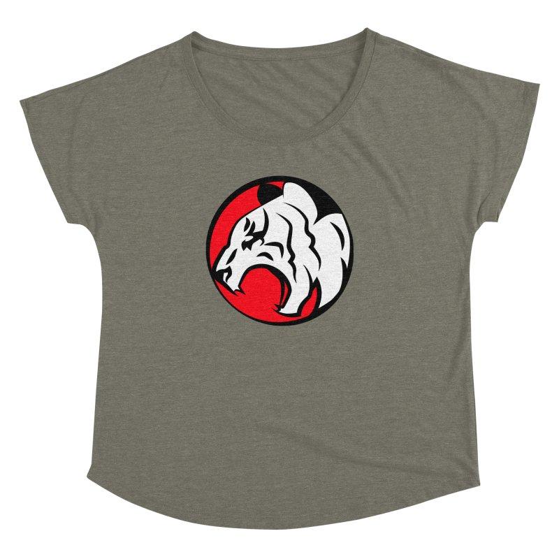 Fierce tiger Women's Dolman by Synner Design