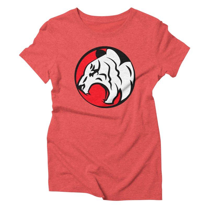Fierce tiger Women's Triblend T-shirt by Synner Design