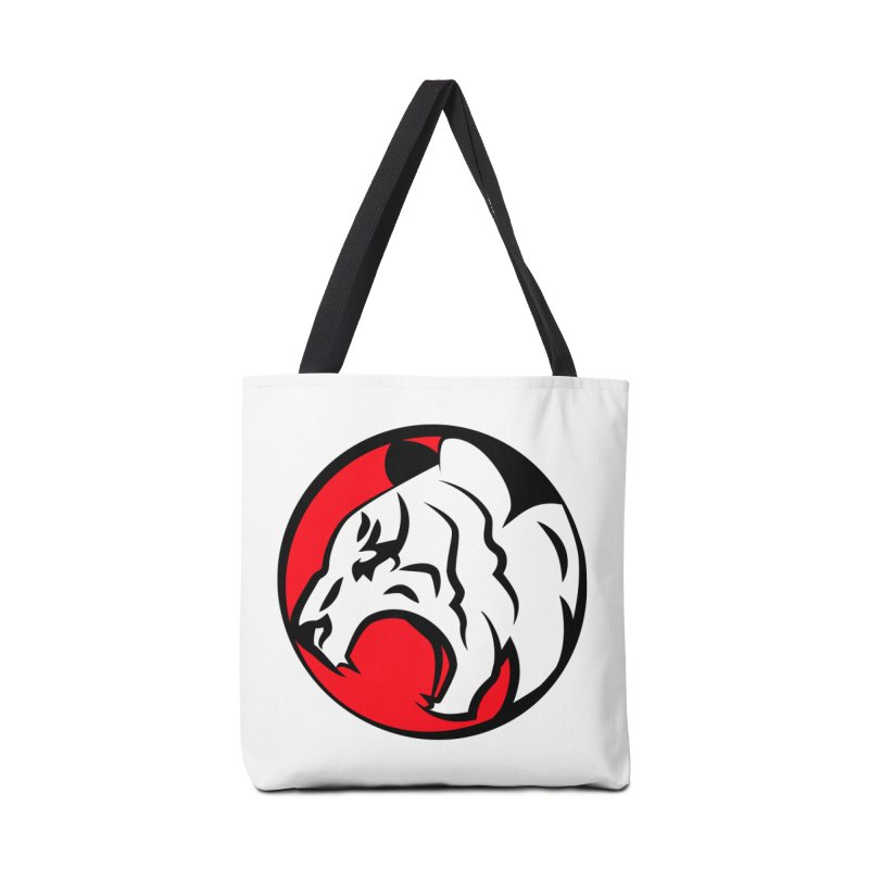 Fierce tiger Accessories Tote Bag Bag by Synner Design