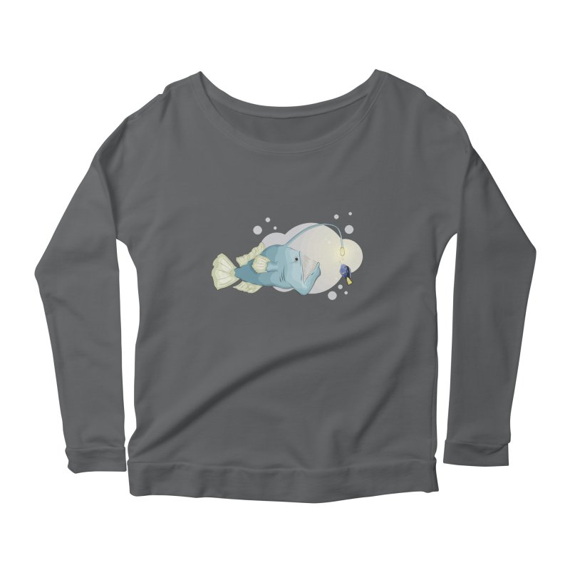 Anglerfish from the abyss Women's Longsleeve T-Shirt by Synner Design