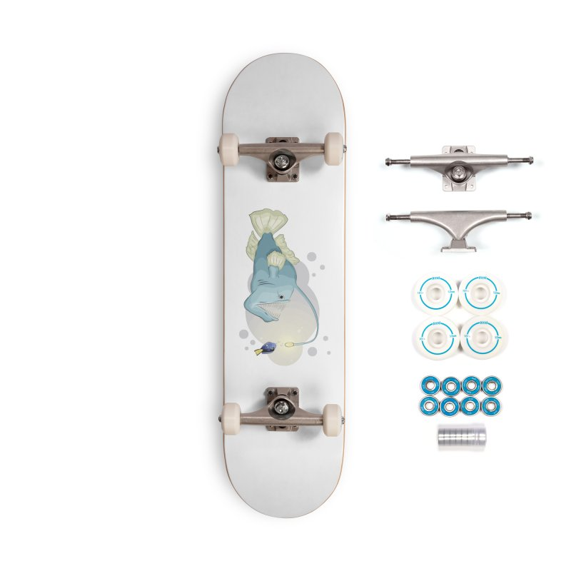 Anglerfish from the abyss Accessories Complete - Basic Skateboard by Synner Design