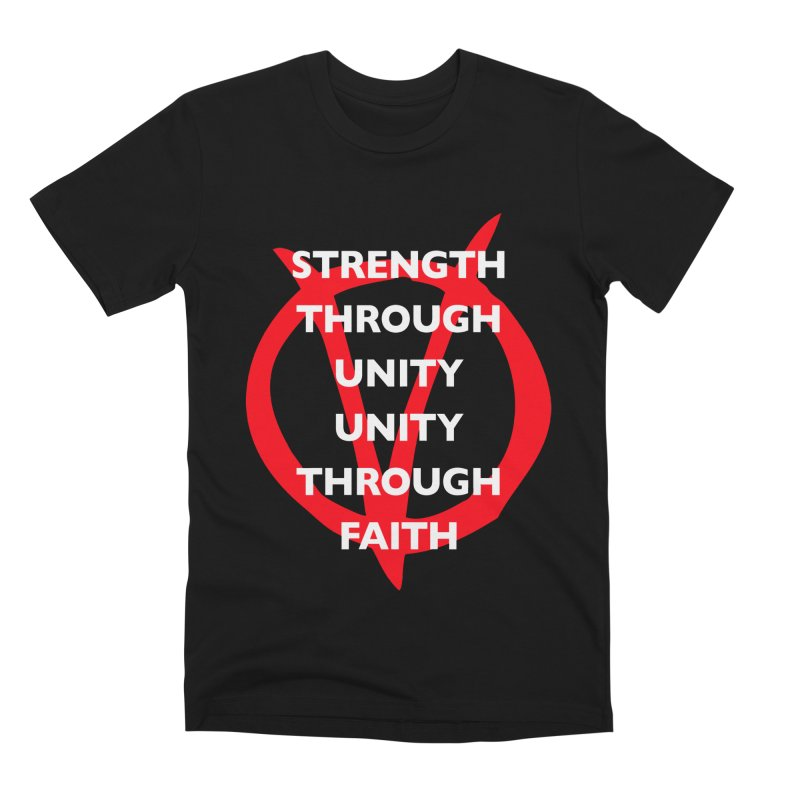 Strength through unity Men's T-Shirt by Synner Design