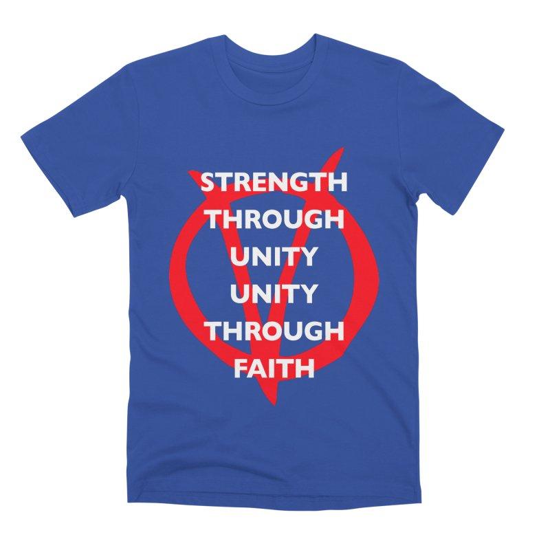 Strength through unity Men's T-Shirt by Synner Design