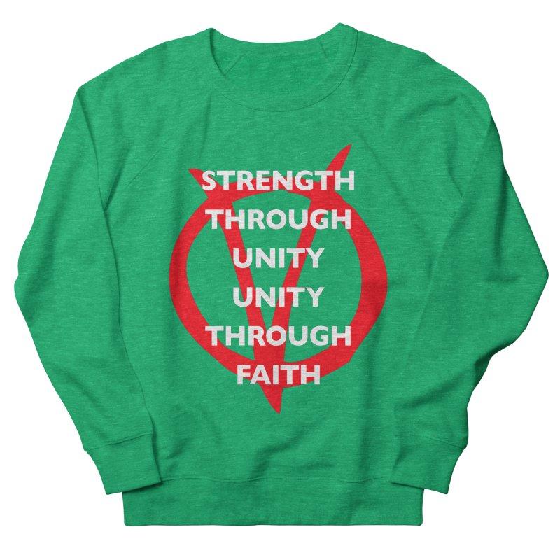 Strength through unity Women's Sweatshirt by Synner Design