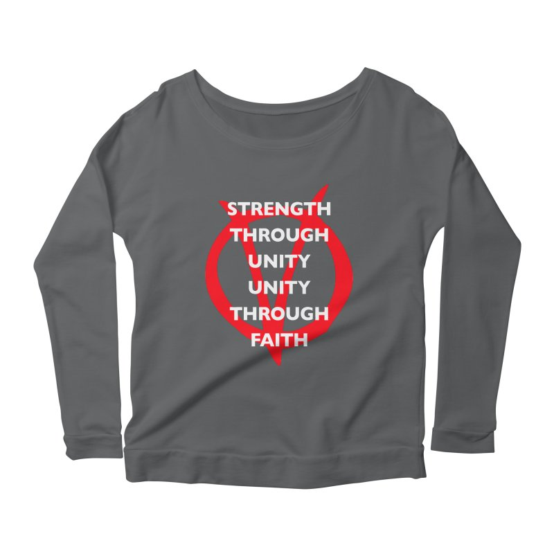 Strength through unity Women's Longsleeve T-Shirt by Synner Design
