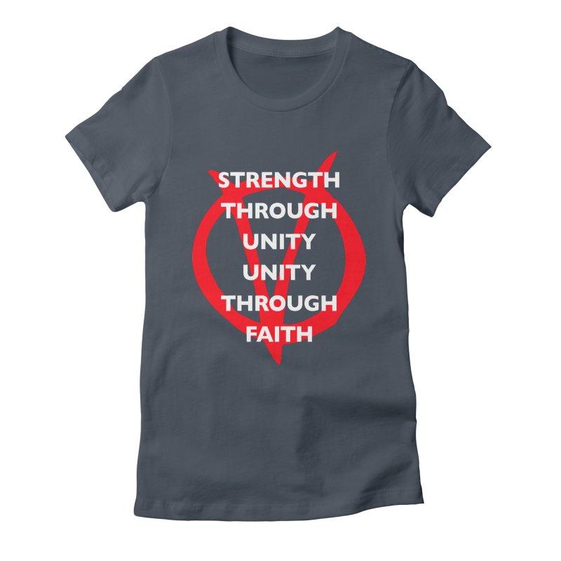 Strength through unity Women's T-Shirt by Synner Design