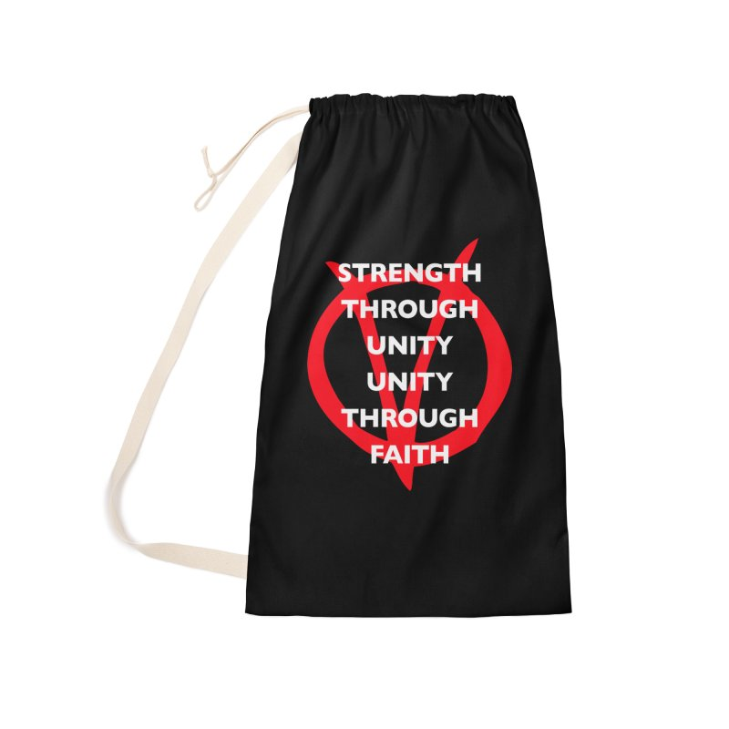 Strength through unity Accessories Bag by Synner Design