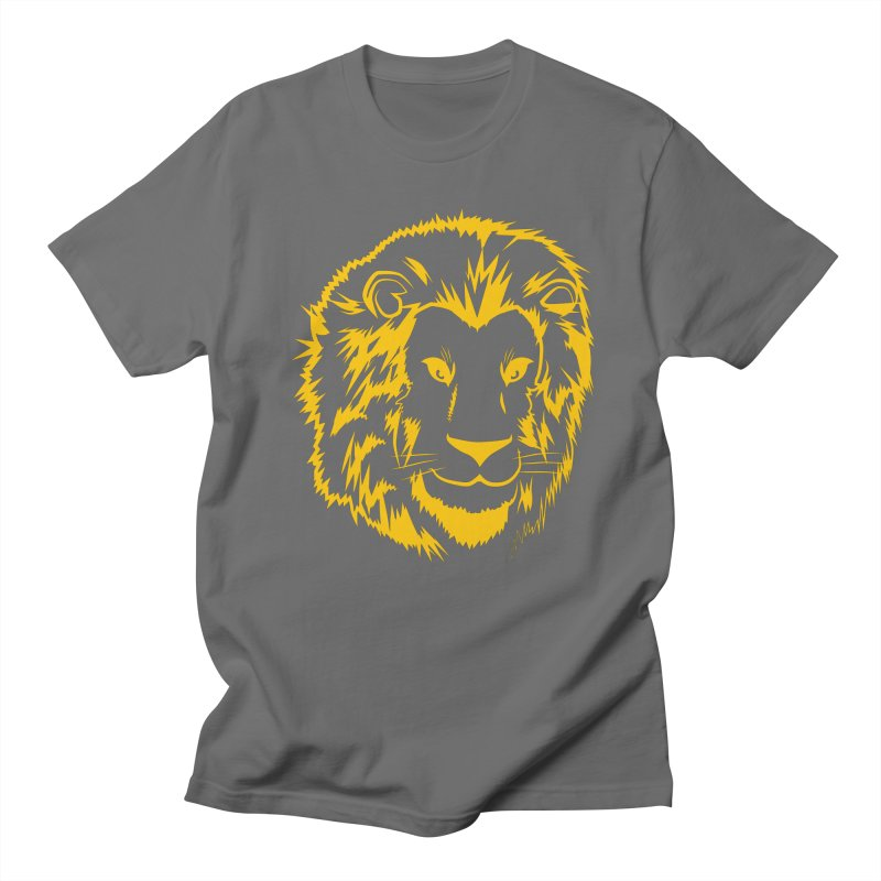 Yellow lion Women's T-Shirt by Synner Design