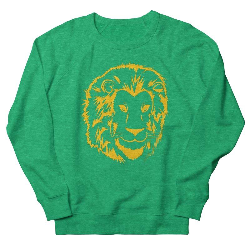 Yellow lion Women's Sweatshirt by Synner Design