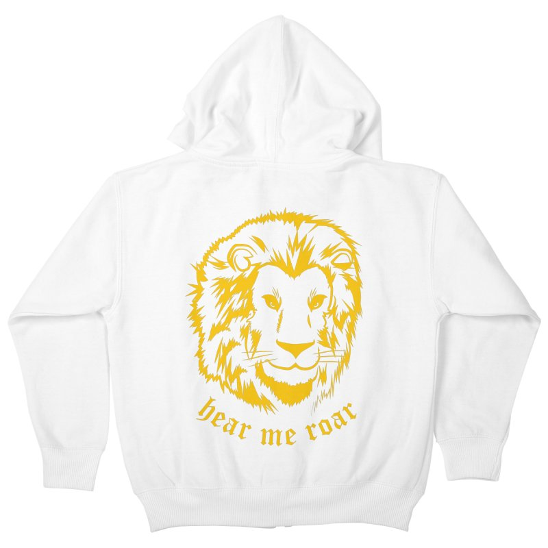 Yellow lion   by Synner Design