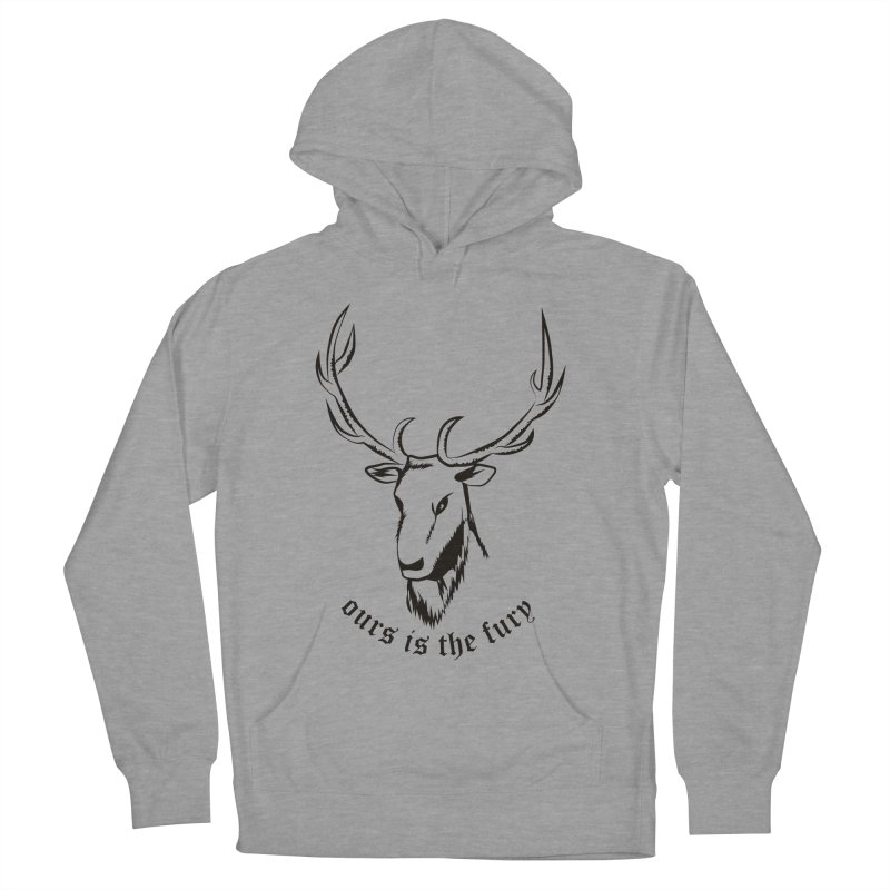 Deer Fury Women's Pullover Hoody by Synner Design