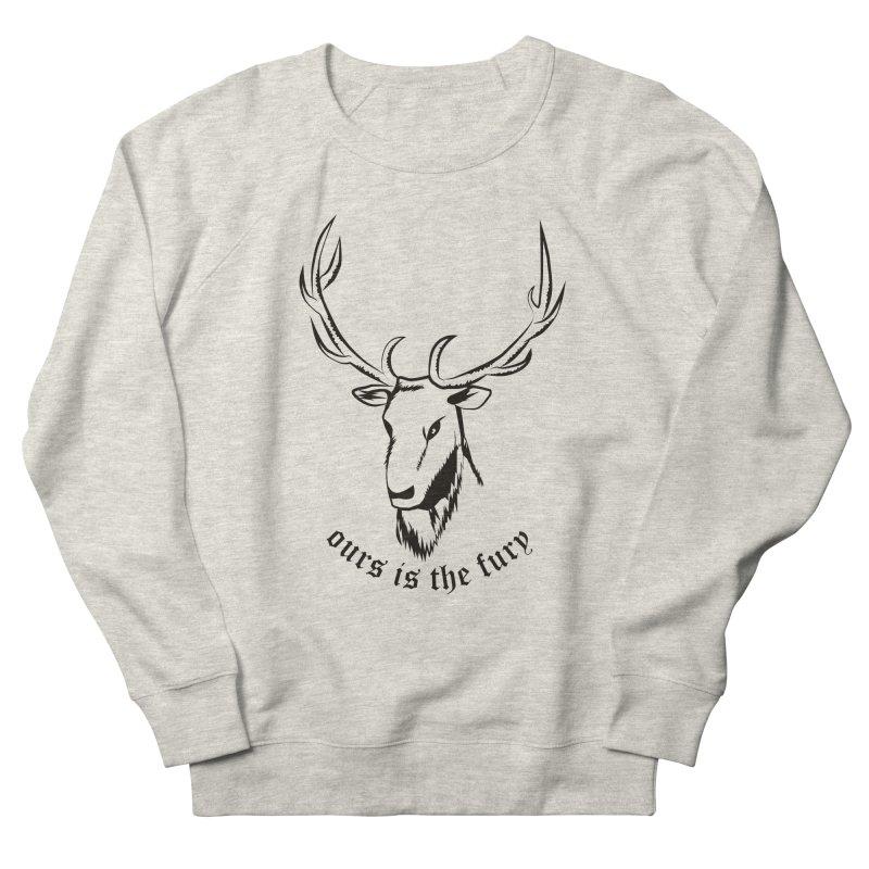 Deer Fury Men's Sweatshirt by Synner Design