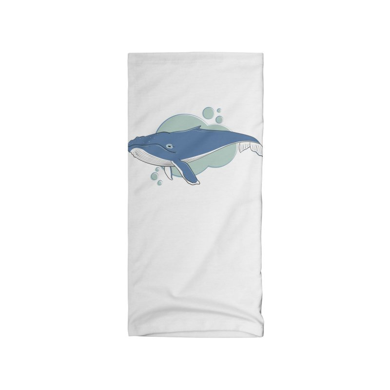 Humpback Whale Accessories Neck Gaiter by Synner Design