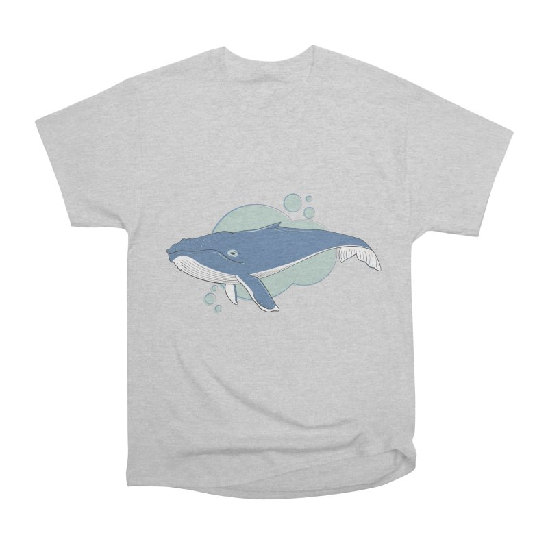Humpback Whale Men's T-Shirt by Synner Design