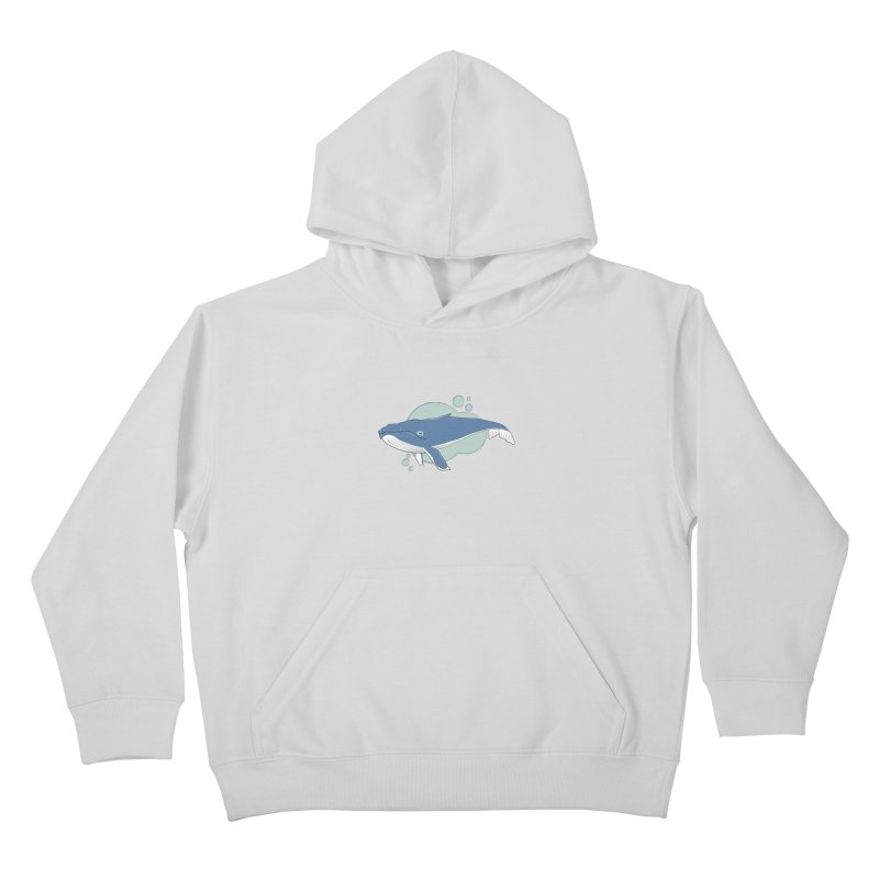 Humpback Whale Kids Pullover Hoody by Synner Design