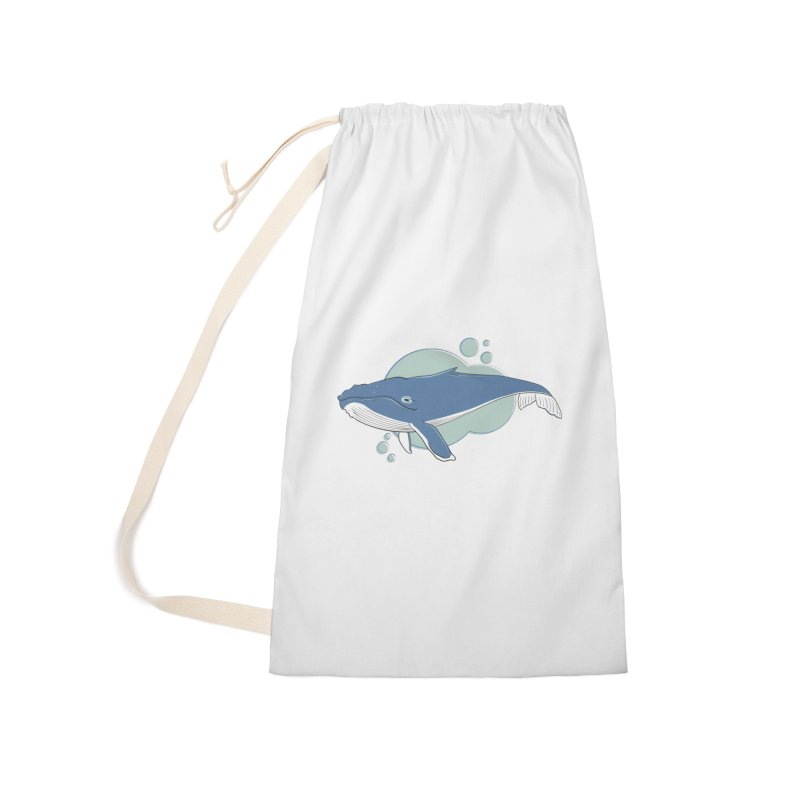Humpback Whale Accessories Bag by Synner Design