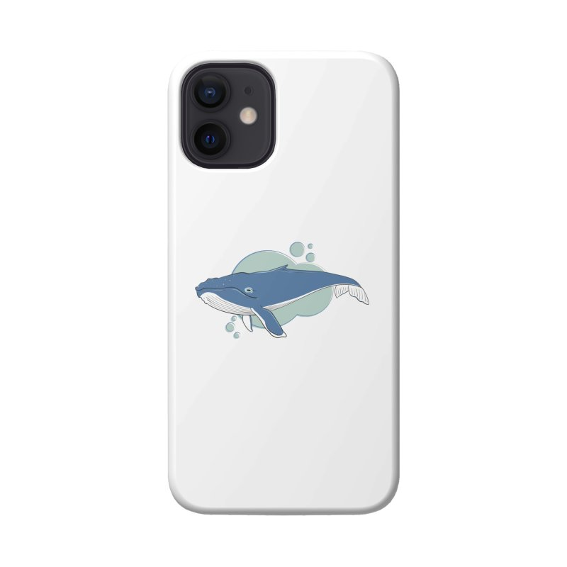 Humpback Whale Accessories Phone Case by Synner Design
