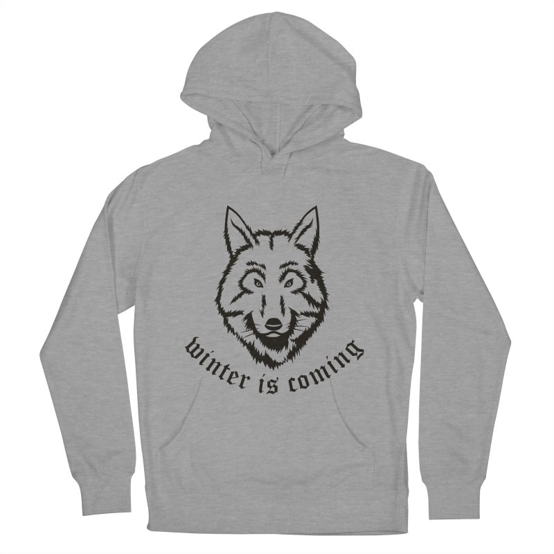 Northern Wolf Men's Pullover Hoody by Synner Design