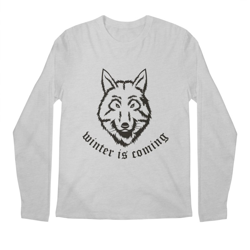 Northern Wolf Men's Longsleeve T-Shirt by Synner Design