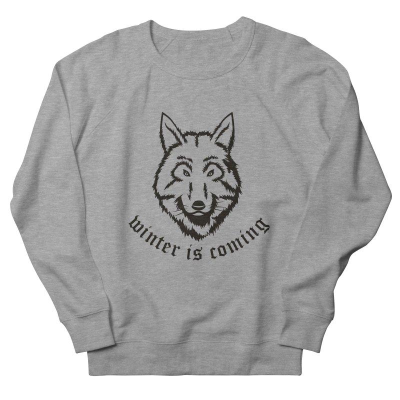 Northern Wolf Men's Sweatshirt by Synner Design