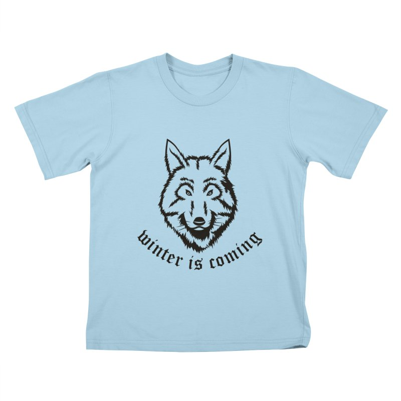 Northern Wolf Kids T-shirt by Synner Design
