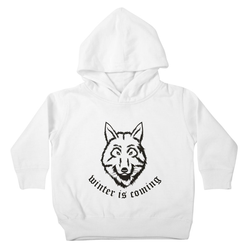 Northern Wolf Kids Toddler Pullover Hoody by Synner Design