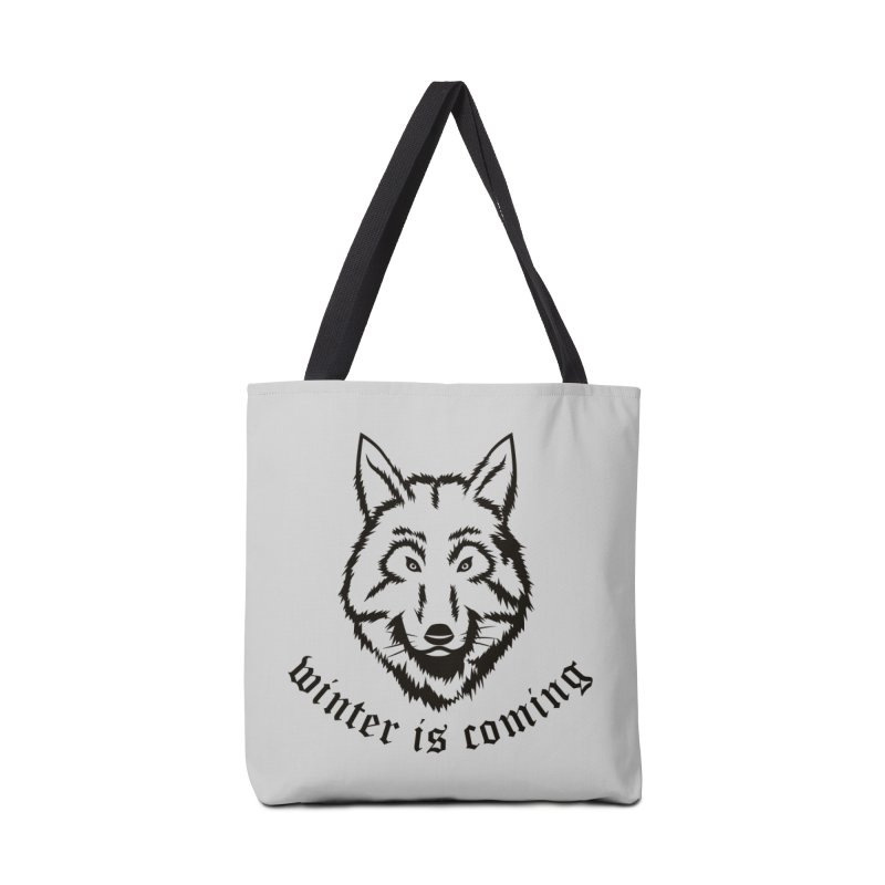 Northern Wolf Accessories Bag by Synner Design