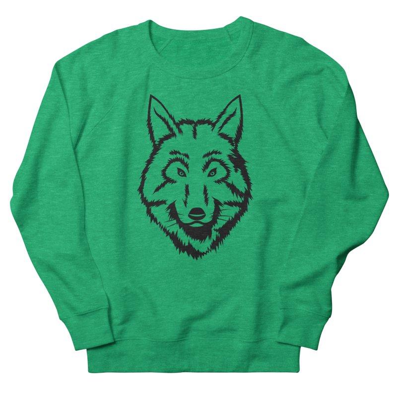 Northern Wolf Women's Sweatshirt by Synner Design
