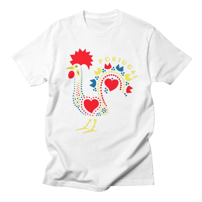 Magic Rooster Men's T-shirt by Synner Design