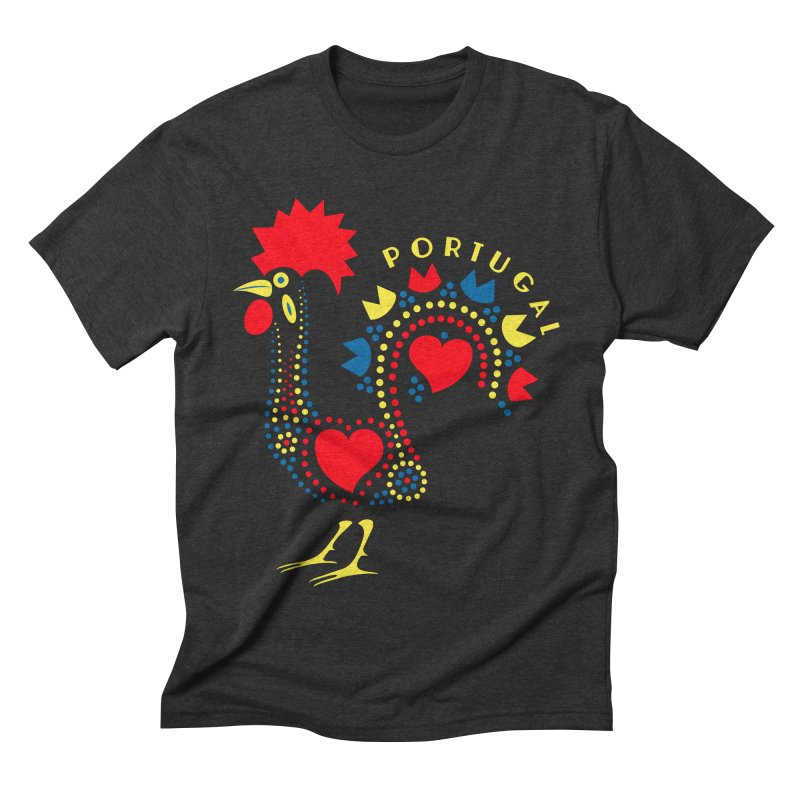 Magic Rooster Men's Triblend T-shirt by Synner Design