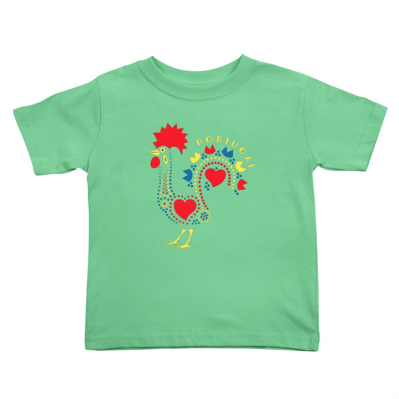 Magic Rooster Kids Toddler T-Shirt by Synner Design