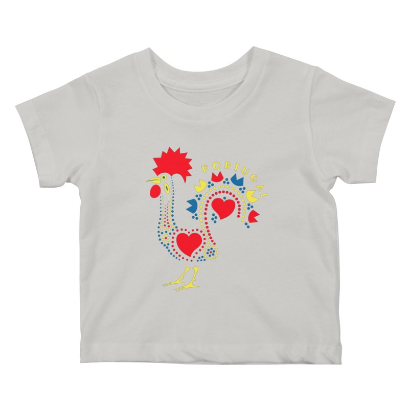 Magic Rooster Kids Baby T-Shirt by Synner Design