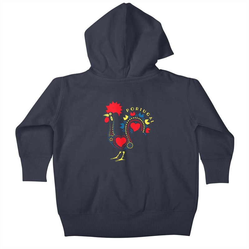 Magic Rooster Kids Baby Zip-Up Hoody by Synner Design