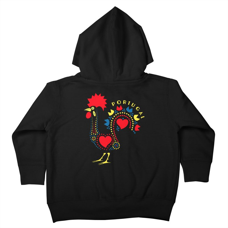 Magic Rooster Kids Toddler Zip-Up Hoody by Synner Design