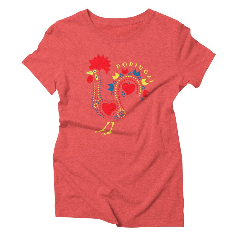 Magic Rooster Women's Triblend T-shirt by Synner Design